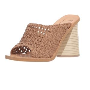 Dolce Vita Anton Woven Block Sandals